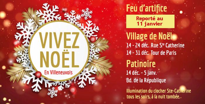 Noël 2019 à Villeneuve