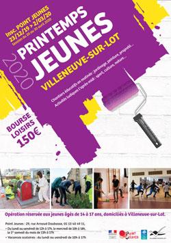 Printemps Jeunes à Villeneuve