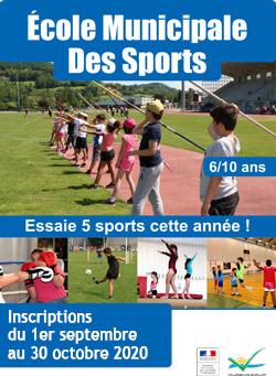 école municipale des sports de Villeneuve