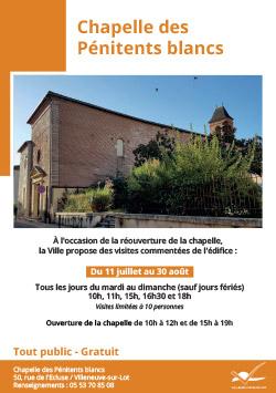 chapelle des pénitents à Villeneuve