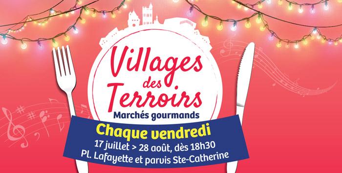 Village des terroirs à Villeneuve