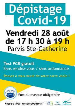 Test COVID Villeneuve