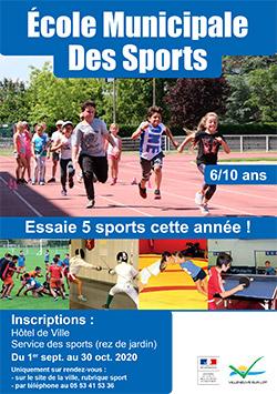 Ecole des Sports Villeneuve 2020