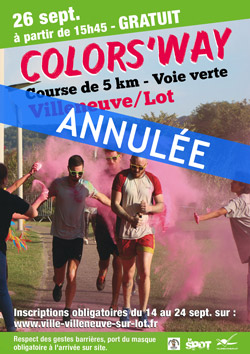 Annulation de la colors Ways