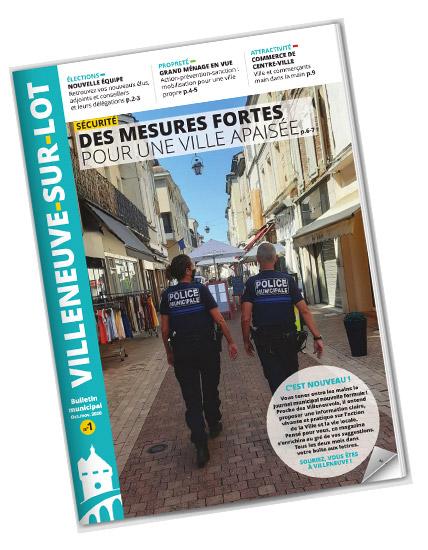 Journal municipal de villeneuve-sur-lot octobre 2020