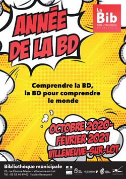 Année de la BD à Villeneuve-sur-Lot