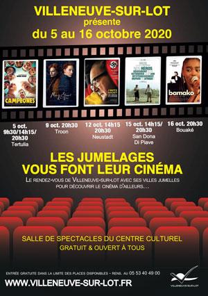 Cinéma et jumelage à Villeneuve