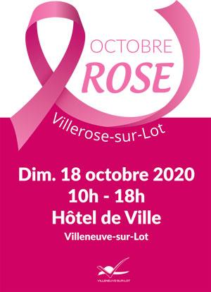 Octobre rose à Villeneuve-sur-Lot