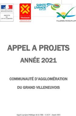 Appel à projet politique de la Ville