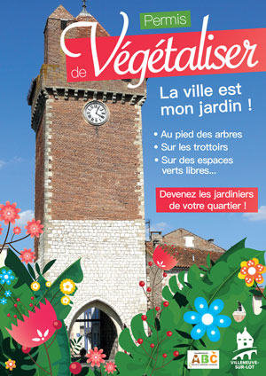 Permis de végétaliser à Villeneuve-sur-Lot