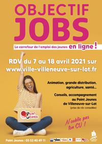 Objectif Job à Villeneuve avril 2021