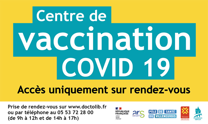 Centre de vaccination de Villeneuve-sur-Lot