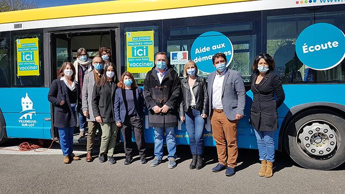 Le bus citoyen de Villeneuve-sur-Lot