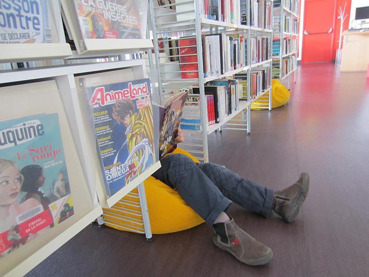 Bibliothèque Villeneuve-sur-Lot
