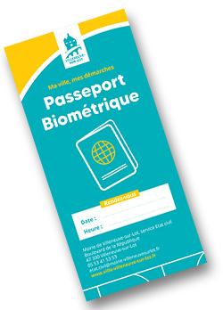 Passeport biométrique Villeneuve