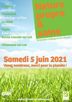 Nature propre et saine 2021