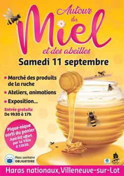 Autour du miel et des abeilles Villeneuve